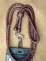 Badge Braided Lanyard