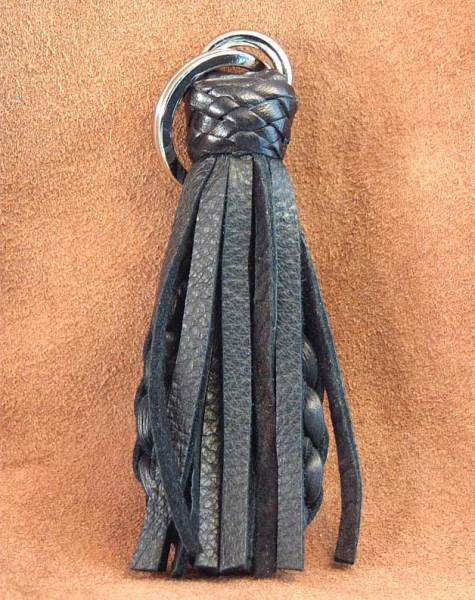 Soft Deer leather tassels