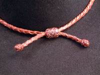 Gaucho Slide Knot on Hatband